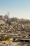 City of the dead and citadel in cairo egypt Stock Image
