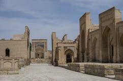 City of the dead. Memorial complex, necropolis Chor-Bakr in Bukh Stock Photos