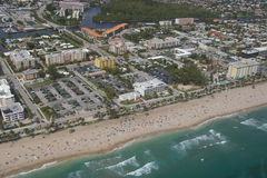 City of Deerfield Beach. Buildings, homes and intracoastal in Deerfield Beach, Florida. Hillsboro blvd stock images