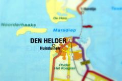 City of Den Helder - Netherlands. Den Helder is a city in the Netherlands, in the province of North Holland Europe royalty free stock photo