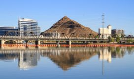 Arizona/Tempe: A City in a Desert? Royalty Free Stock Image