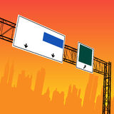 City Design. Vector illustration of a city design Stock Images