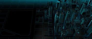 Free City Design Concept With Copy Space Stock Photos - 213665413