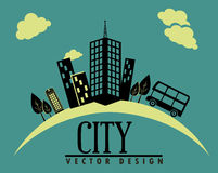 City design Royalty Free Stock Images