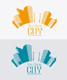 City design. Royalty Free Stock Photography