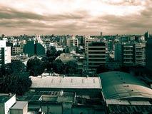 City. Después de la lluvia Stock Images