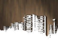 City destruction Stock Images