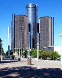 City of Detroit - downtown Stock Photography