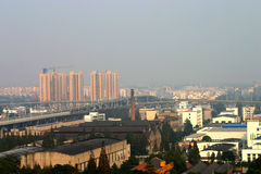 City Development. A developing city in China Stock Photo