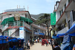 The City of Dharamsala Royalty Free Stock Image