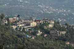 The City of Dharamsala Royalty Free Stock Photo