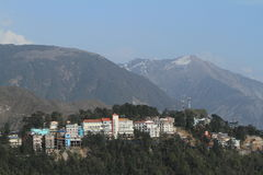 The City of Dharamsala Royalty Free Stock Images