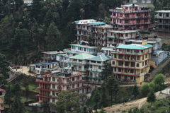 The City of Dharamsala Stock Images
