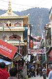 The City of Dharamsala Stock Photo