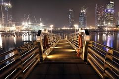 City Dock Royalty Free Stock Images