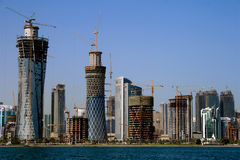 City of Doha, Qatar Stock Image