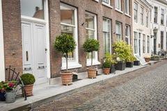 The city Domburg Royalty Free Stock Photo