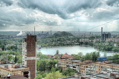 City of Donetsk, Ukraine Royalty Free Stock Photos