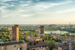 City of Donetsk, Ukraine Royalty Free Stock Photo