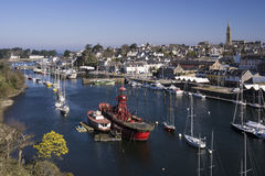 City of Douarnenez Stock Photography