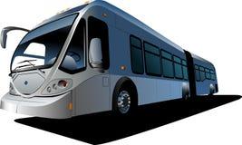 City double bus Stock Image