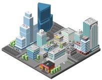 City Downtown Concept Stock Photos