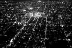 City 6. Downtown streets of Tokyo Japan Royalty Free Stock Images