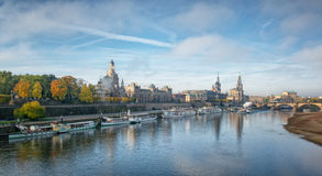 City of Dresden in Autumn Royalty Free Stock Photo