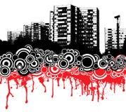 City dribble Stock Image