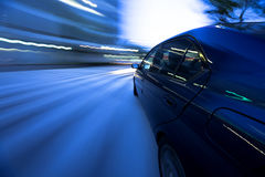 City driving Royalty Free Stock Photography
