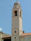 City of Dubrovnik. Beautiful old church in Dubrovnik, Croatia Royalty Free Stock Photography