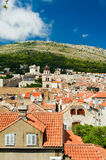 The city of Dubrovnik in Croatia Stock Images