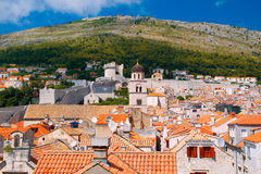 The city of Dubrovnik in Croatia Royalty Free Stock Images