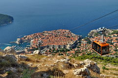 City of Dubrovnik in Croatia Royalty Free Stock Photography