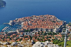 City of Dubrovnik in Croatia Stock Photos