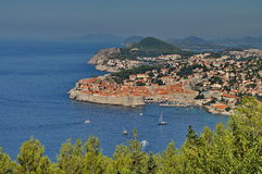 City of Dubrovnik in Croatia Royalty Free Stock Images