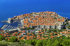 City of Dubrovnik stock image