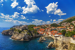 City of Dubrovnik Stock Images
