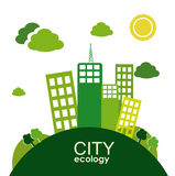 City ecology Royalty Free Stock Images