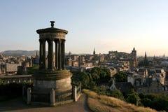 City of Edinburgh. Scotland before sunset Royalty Free Stock Photo