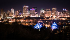 City Of Edmonton Stock Image