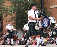 City Of Edmonton Pipe And Drums Transit Band Royalty Free Stock Image