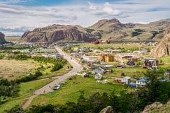 El Chalten, Argentina. The city of El Chalten Royalty Free Stock Photos