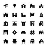 City Elements Vector Icons 2 Royalty Free Stock Photo