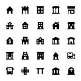 City Elements Vector Icons 1 Royalty Free Stock Photos