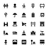 City Elements Vector Icons 6 Royalty Free Stock Photo