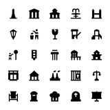 City Elements Vector Icons 9 Royalty Free Stock Photo