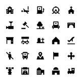 City Elements Vector Icons 4 Stock Photos