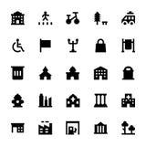 City Elements Vector Icons 7 Stock Photos