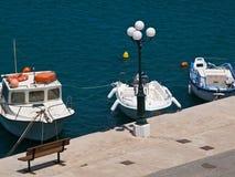 The city embankment of sitia Royalty Free Stock Photo